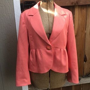 Super cute coral pink jacket